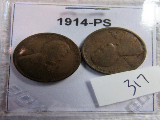 1914-PS Lincoln Cent
