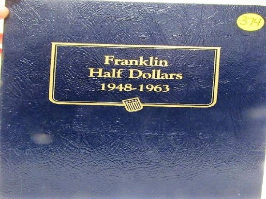 35 Franklin Half Dollars