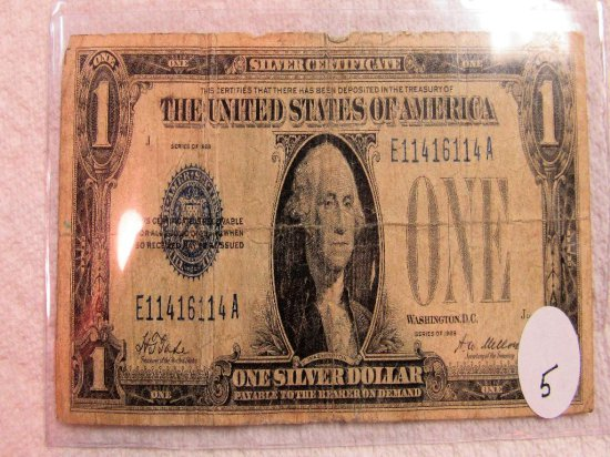 1928 Funny Back $1 Note