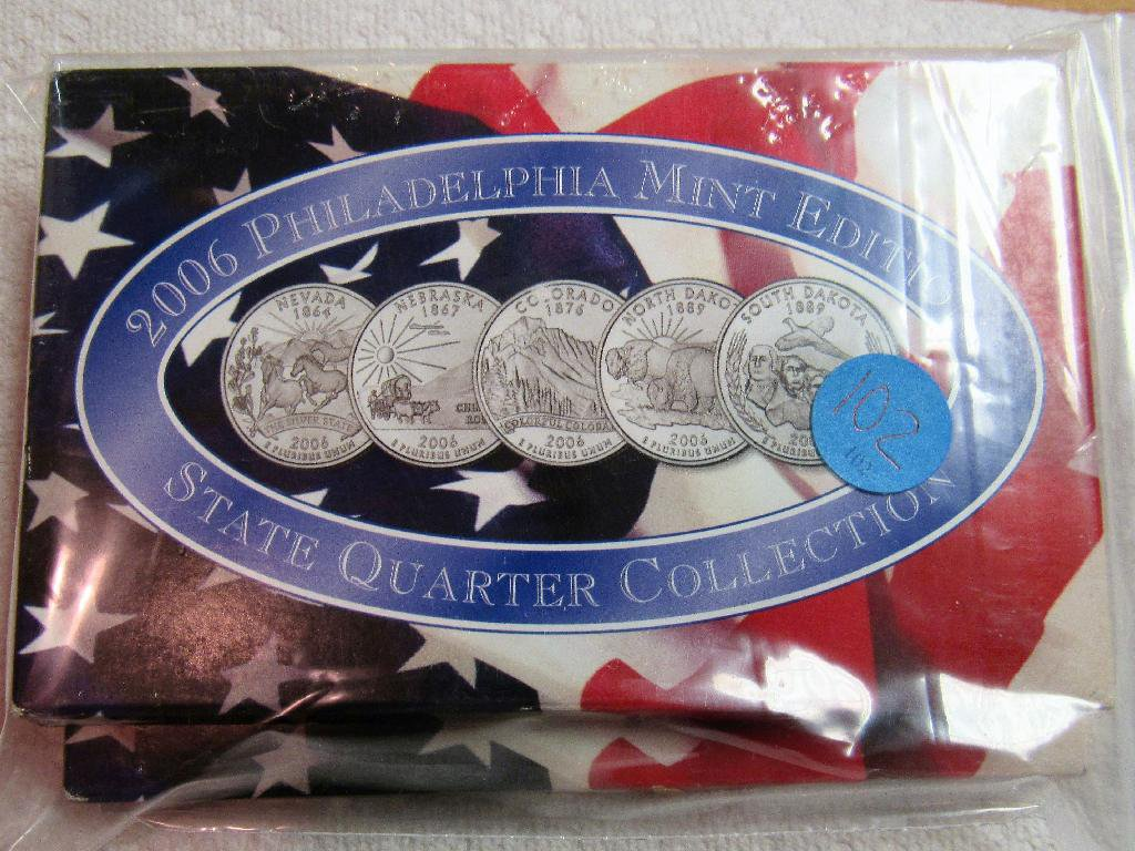 2006 State Quarters Mint Set Denver & Philadelphia