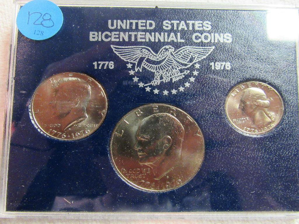 Uncirculated Bicentennial Coin Set