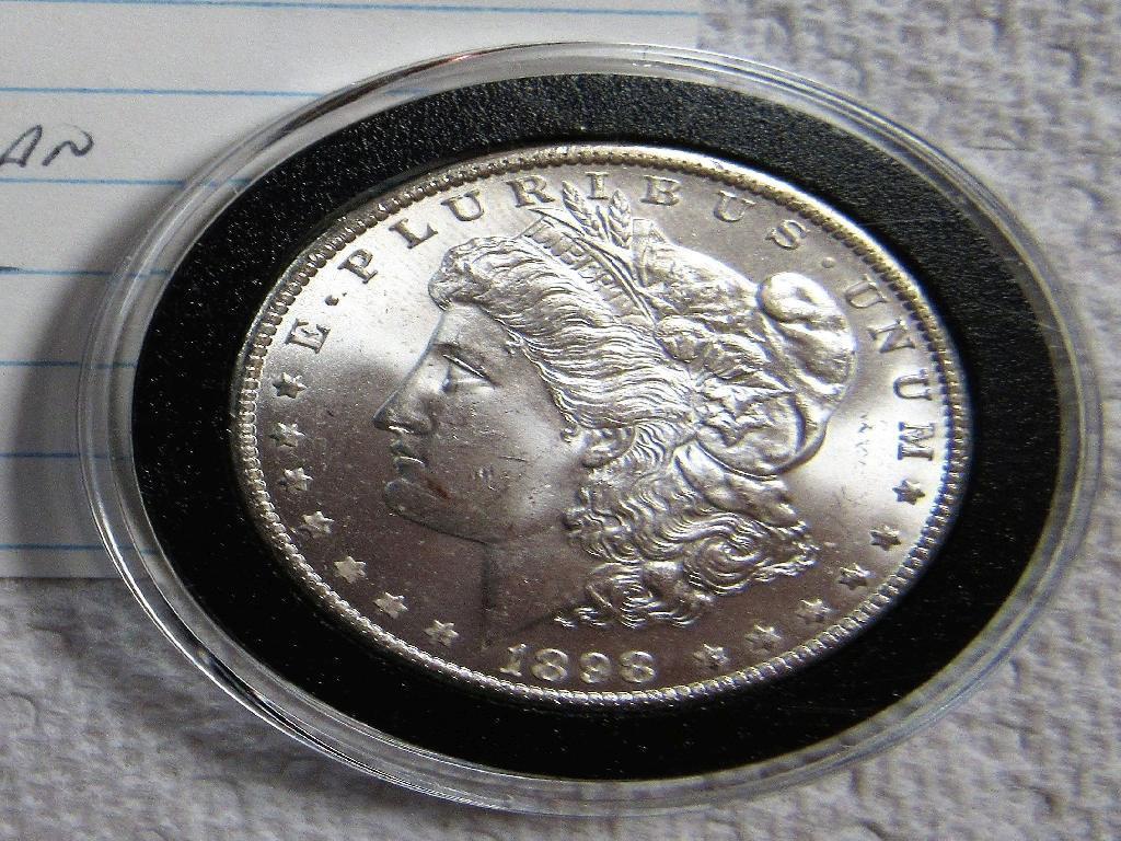 1898 O Morgan Dollar
