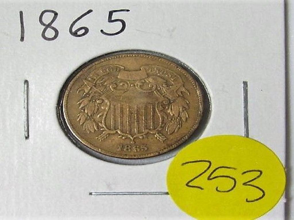 1965 2 Cent Piece