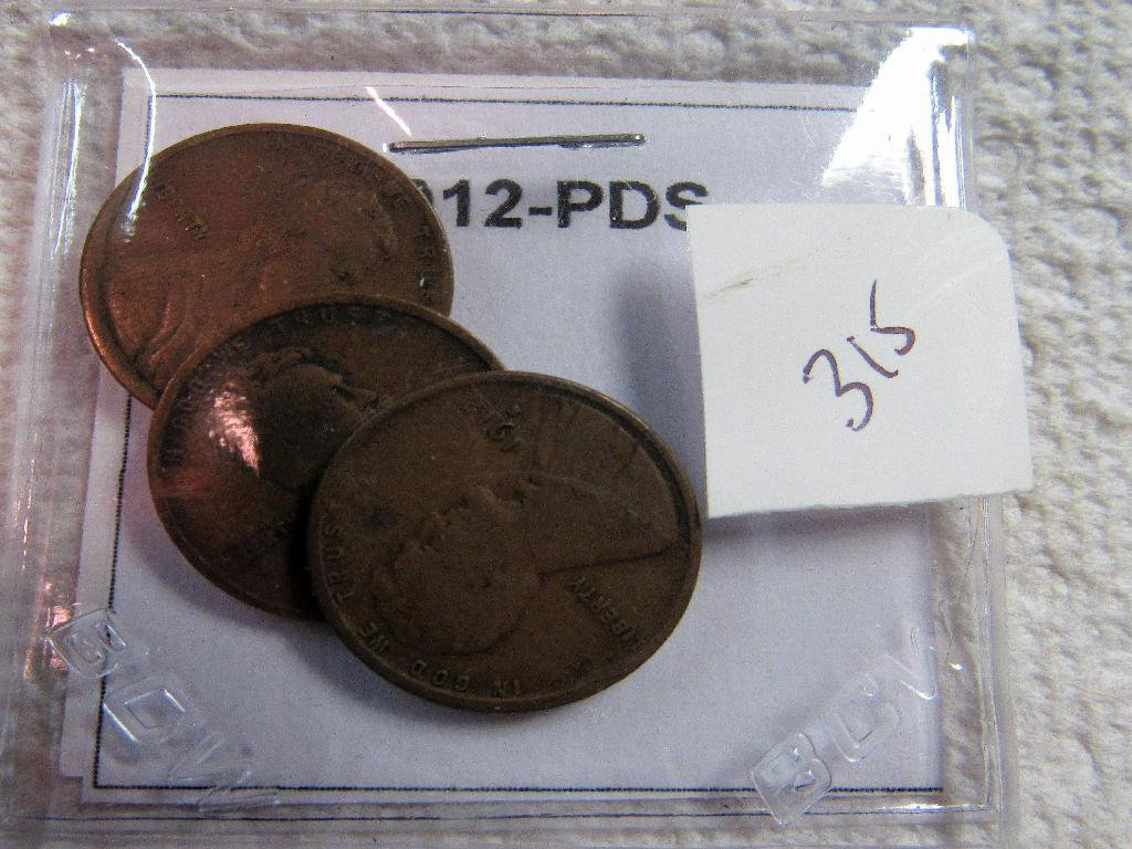 1912-PDS Lincoln Cent