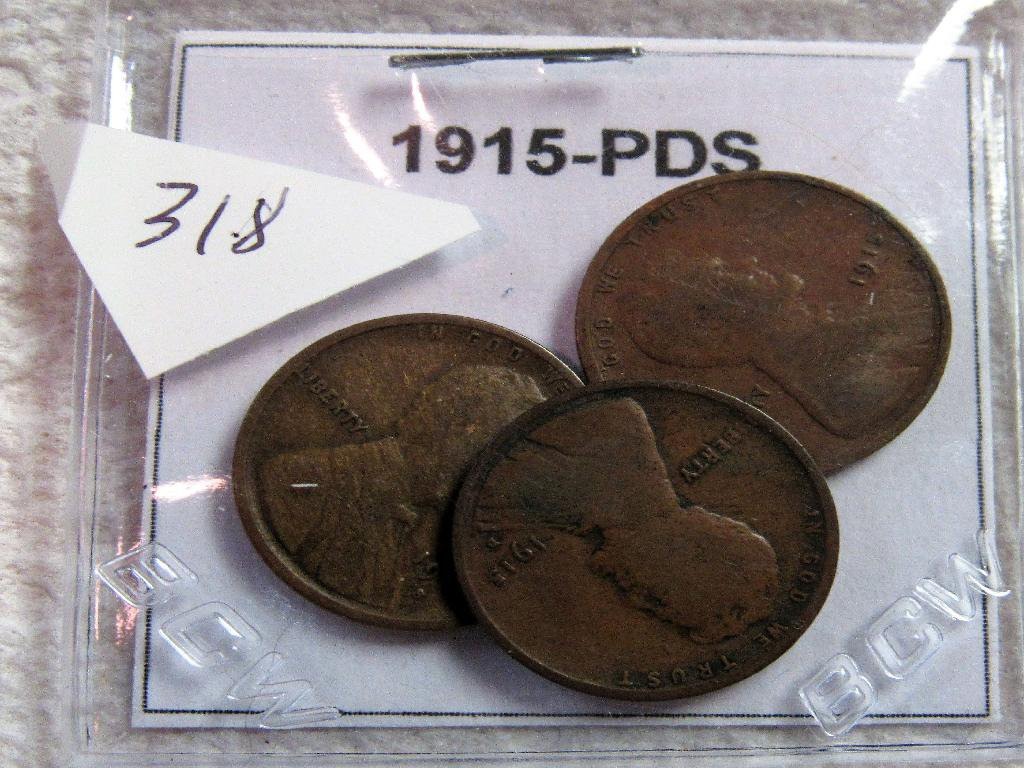1915-PDS Lincoln Cent