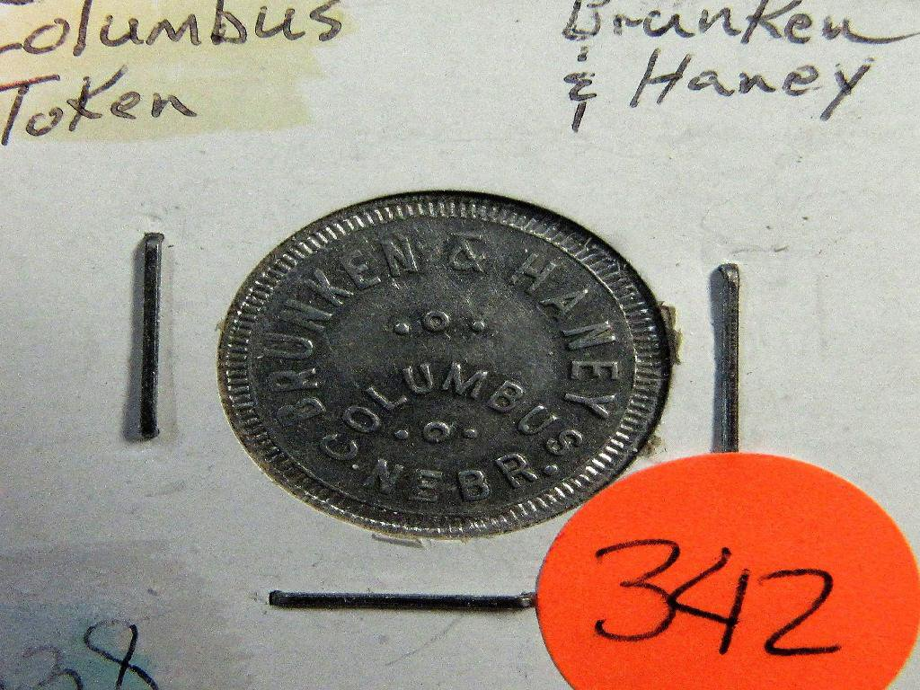 10 Cent Columbus NE Token
