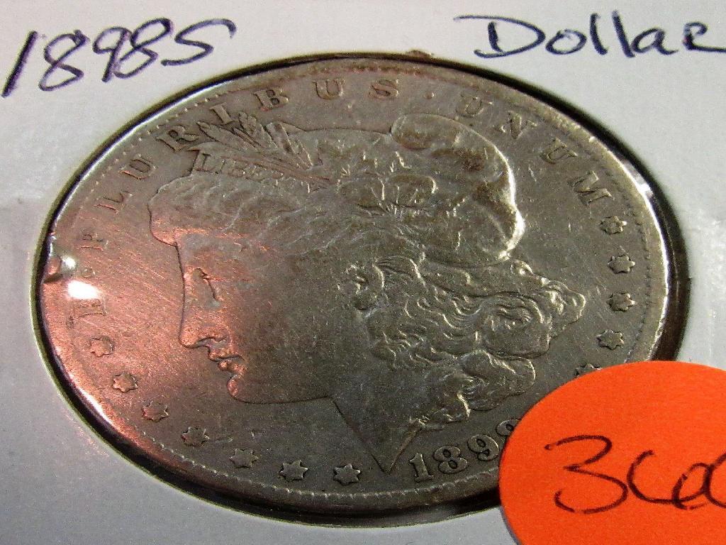 1898S Morgan Dollar