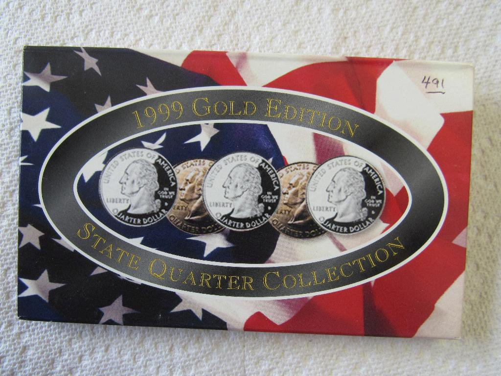 Proof Set of 5 Statehood Quarters