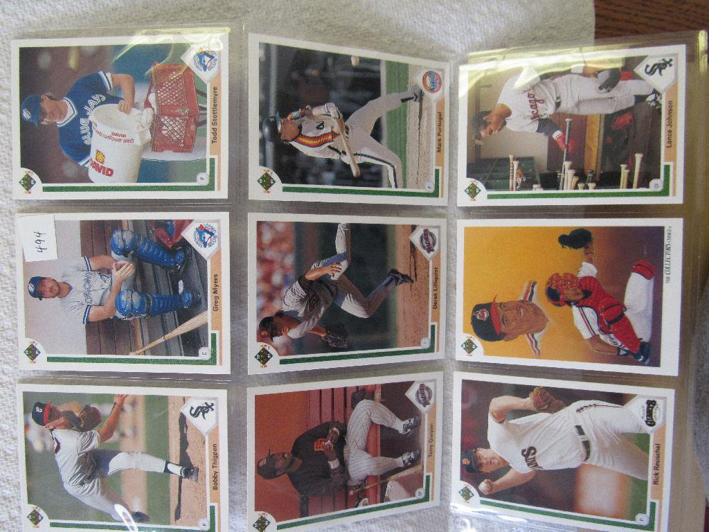 9 Collector Cards