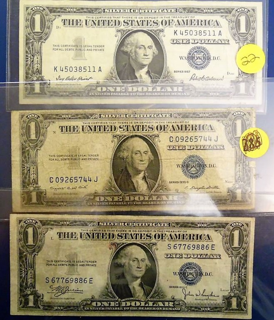 One Dollar Silver Certificate Auctions Online Proxibid