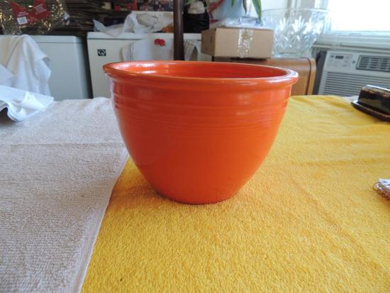Orange fiesta Ware bowl
