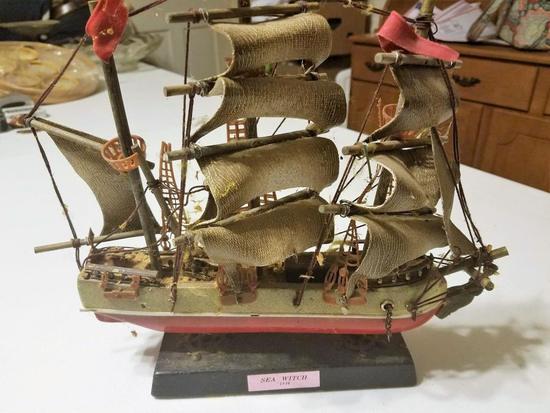 Seawitch Toy Ship