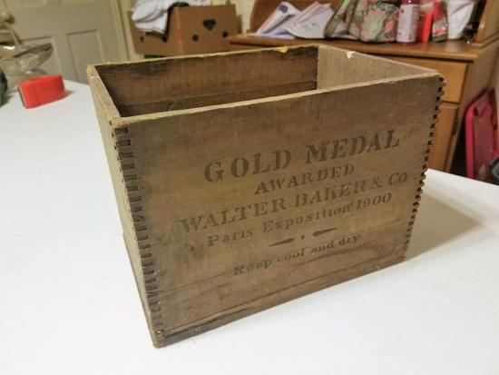 Gold Medal Wood Box