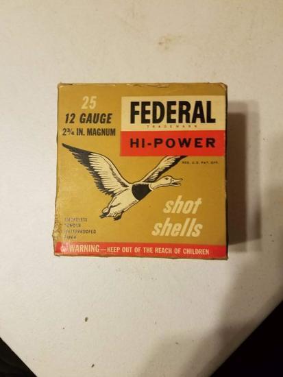 Federal High Power 12 Ga. Shells