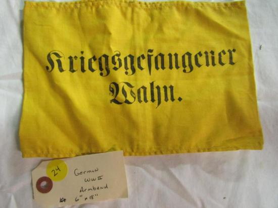 """German WWII Armband 6"""" x 18"""""""