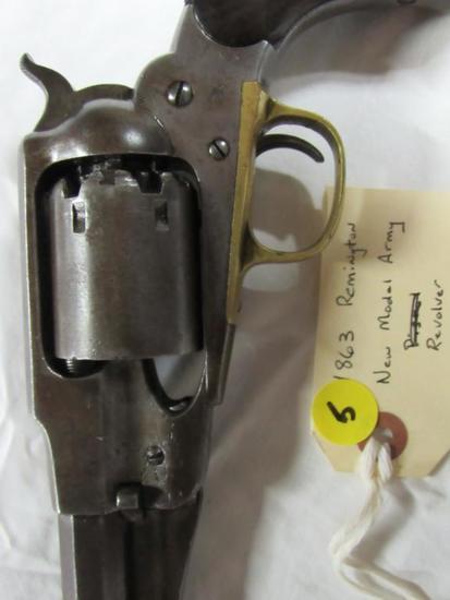 1863 Remington New Model Army Revolver
