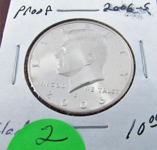 2006-S Kennedy Clad Proof