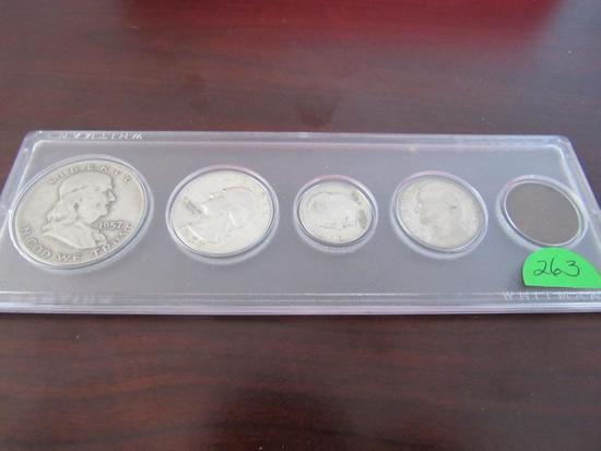1957 Coin Set
