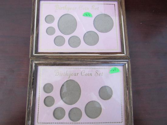 2 Birth Year Coin Sets