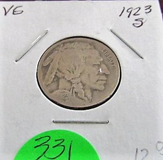 1923-S Buffalo Nickel