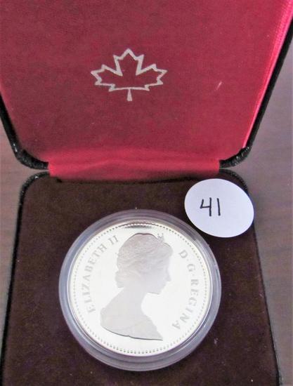 1882-1982 Canada Proof Silver Dollar