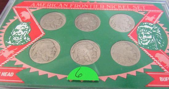 American Frontier Nickel Set