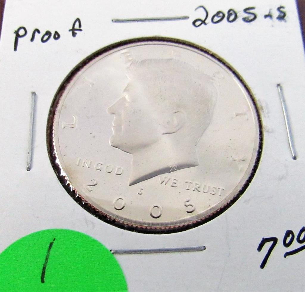 2005-S Kennedy Clad Proof