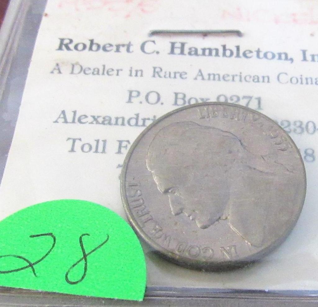 1955-D/S Jefferson Nickel