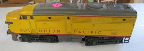 Lionel Union Pacific Alco Diesel Yellow Body