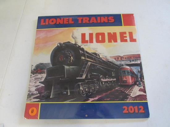 Lionel 2012 train calendar