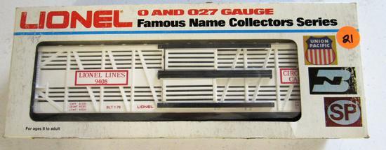Lionel Lionel Lines boxcar