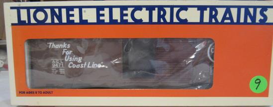 Lionel Atlantic Coast Line Boxcar