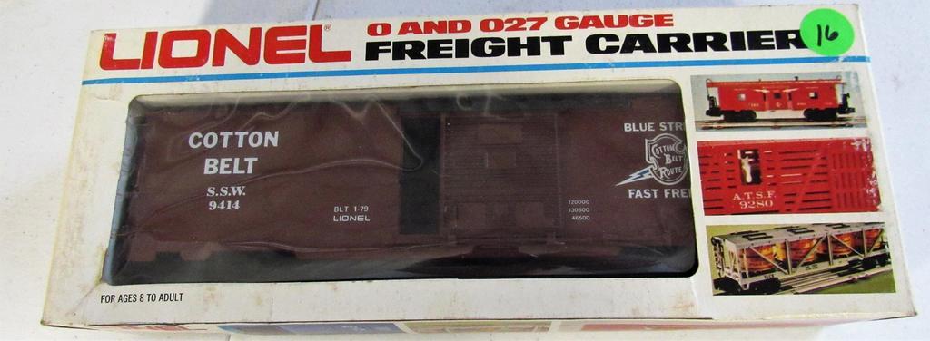 Lionel Cotton Belt box Car