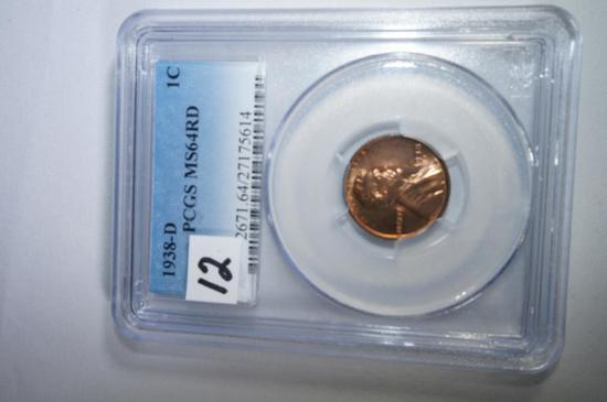 1938D Lincoln  cent