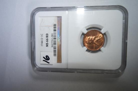 1944D Lincoln  cent