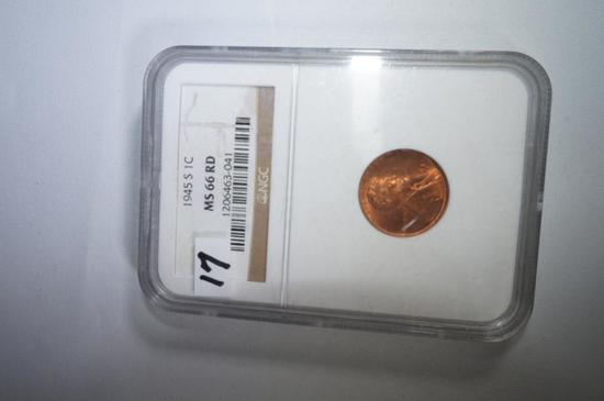 1945S Lincoln cent