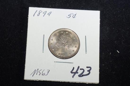 """1893 """"V"""" nickel"""
