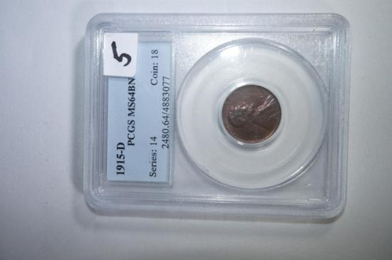 1915D Lincoln  cent