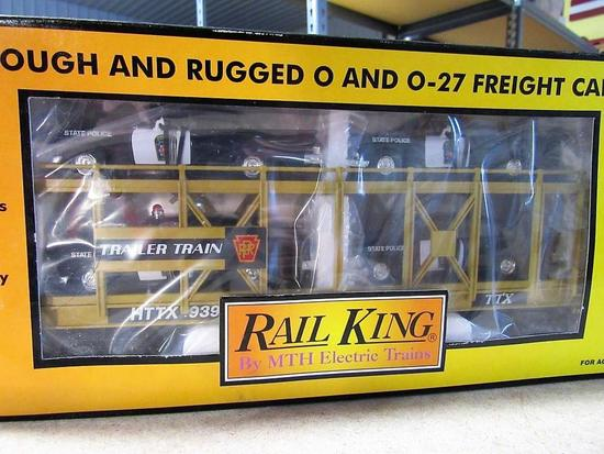 Rail King Train Estate Auction