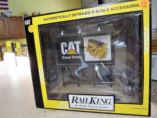 CAT Authentically Detailed O Scale Freight Accessories