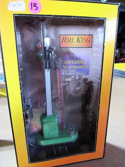 Rail King Operating Accessories W/ Track Activation Device