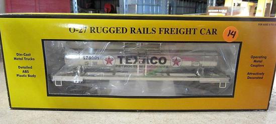 Rail King O-27 Rugged Rails Freight Car