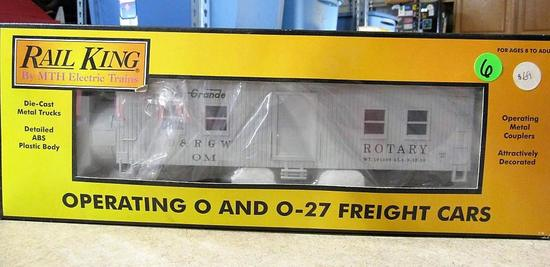 Rail King Operating O and O-27 Freight Cars