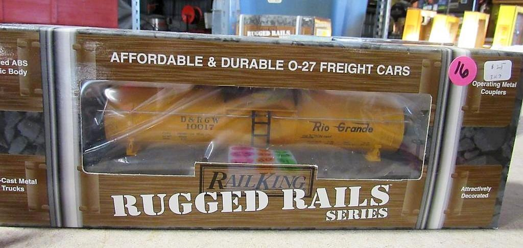 Rail King Affordable & Durable O-27 Freight Cars