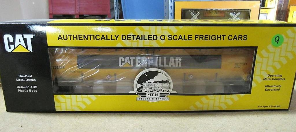 CAT Authentically Detailed O Scale Freight Cars