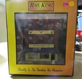 Rail King Girardinis Italian Restaurant 3-Story City Factory w/ Blinking Sign