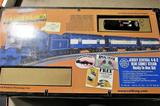 Jersey Central 4-6-2 Bantam Blue Comet Steam R-T-R- Train Set w/Loco Sound