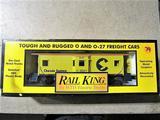 Rail King Chessie Bay Window Caboose