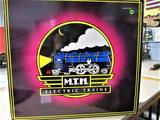 M.T.H Electric Trains 70' Scale Streamlined Passenger Car Set