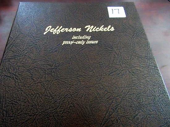 Awesome Jefferson Nickel Set, 1938-2001